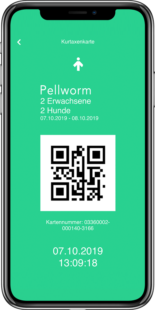 WELCMpass - Die digitale Kurtaxen-App